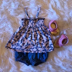 Other - Burt's Bees & baby gap summer outfit